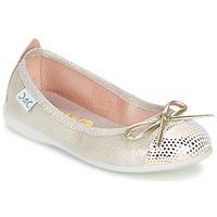 Schoenen Meisjes Ballerina's Citrouille et Compagnie GRAGON Beige / Pailletten