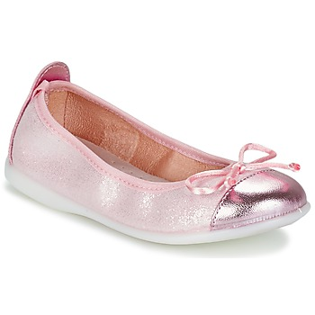 Schoenen Meisjes Ballerina's Citrouille et Compagnie GRAGON Roze / Pailletten