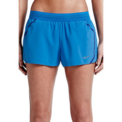 Textiel Dames Trainingsbroeken Nike Aeroswift Short Women Blau