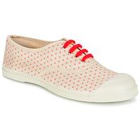 Schoenen Dames Lage sneakers Bensimon TENNIS MINIPOIS Ecru / Roze