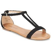 Schoenen Dames Sandalen / Open schoenen Moony Mood GEMINIELLE Zwart