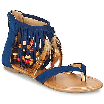 Schoenen Dames Sandalen / Open schoenen Moony Mood GETOULA Blauw