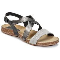 Schoenen Dames Sandalen / Open schoenen Kickers ANADAY Zwart / Grijs