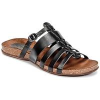 Schoenen Dames Sandalen / Open schoenen Kickers ANAELLE Zwart
