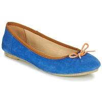 Schoenen Dames Ballerina's Kickers BAIE Blauw / OranJe