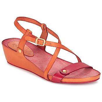 Schoenen Dames Sandalen / Open schoenen Kickers TASTE OranJe / Rood