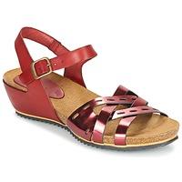 Schoenen Dames Sandalen / Open schoenen Kickers TOKANNE Rood / Metaal