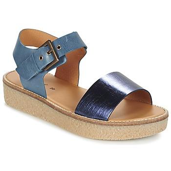 Schoenen Dames Sandalen / Open schoenen Kickers VICTORY Blauw