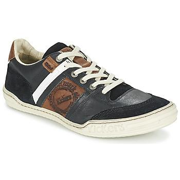 Schoenen Heren Lage sneakers Kickers JEXPLORE Zwart