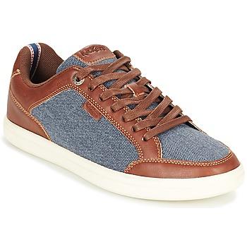 Schoenen Heren Lage sneakers Kickers AART HEMP Bruin / Blauw