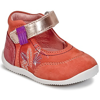 Schoenen Meisjes Ballerina's Kickers BIMAMBO Oranje / Fushia / Roze