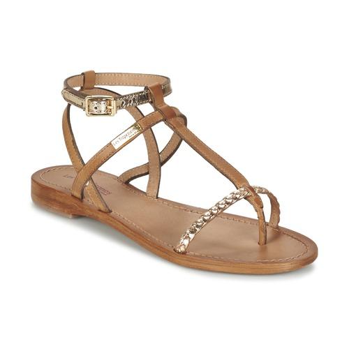 Schoenen Dames Sandalen / Open schoenen Les Tropéziennes par M Belarbi HILATRES Bruin / Goud