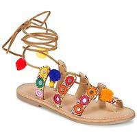 Schoenen Dames Sandalen / Open schoenen Les Tropéziennes par M Belarbi OREA Bruin / Multi