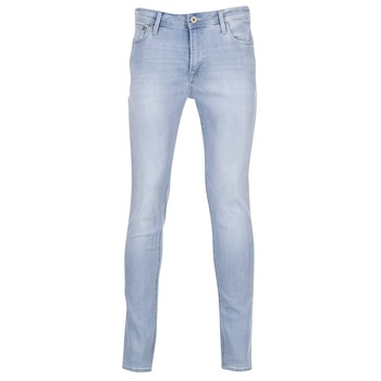 Textiel Heren Skinny jeans Jack & Jones LIAM JEANS INTELLIGENCE Blauw / Clair