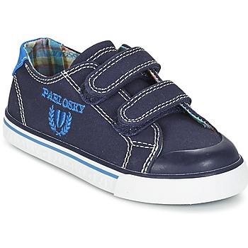 Schoenen Jongens Lage sneakers Pablosky TEDOUME Blauw