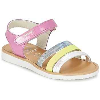 Schoenen Meisjes Sandalen / Open schoenen Pablosky RETOKIA Multicolour