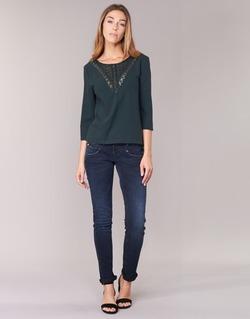 Textiel Dames Skinny jeans Freeman T.Porter ALEXA SLIM SDM Blauw / Donker