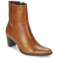 Schoenen Dames Enkellaarzen Betty London GALET Camel