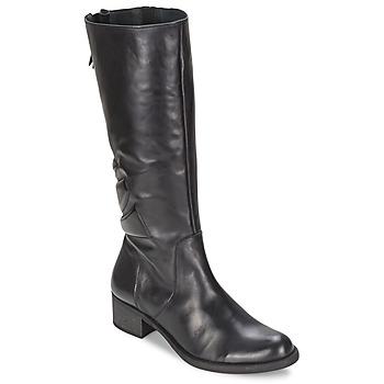 Schoenen Dames Hoge laarzen Betty London GRECIA Zwart