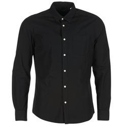 Textiel Heren Overhemden lange mouwen Esprit FOVETTIO Zwart