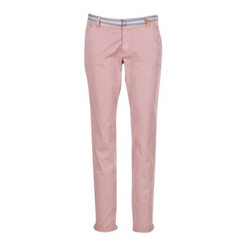 Textiel Dames 5 zakken broeken Esprit HOUISSA Roze