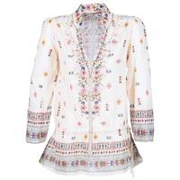 Textiel Dames Tunieken Derhy DETENTE Wit / Roze