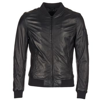 Textiel Heren Leren jas / kunstleren jas Oakwood 62354 Zwart