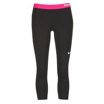 Textiel Dames Leggings Nike NP CL CAPRI Zwart / Roze