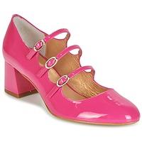 Schoenen Dames pumps Mellow Yellow BYDOUDOU Fushia