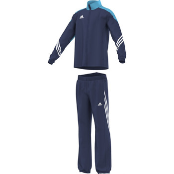 Textiel Jongens Trainingspakken adidas Performance Survêtement Sereno 14 Pes Suit Junior Blauw
