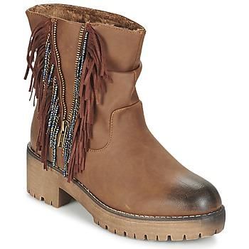 Schoenen Dames Laarzen Coolway BARINA Camel