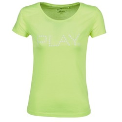 Textiel Dames T-shirts korte mouwen Only Play BASIC Geel