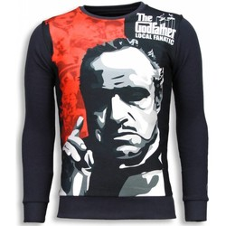 Textiel Heren Sweaters / Sweatshirts Local Fanatic Padrino - The Godfather - Sweater 35