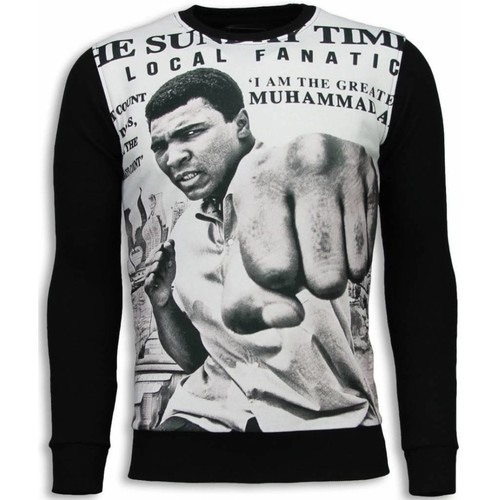 Textiel Heren Sweaters / Sweatshirts Local Fanatic Muhammad Ali Spaper Zwart