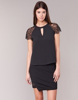 Textiel Dames Tops / Blousjes Morgan OMA Zwart