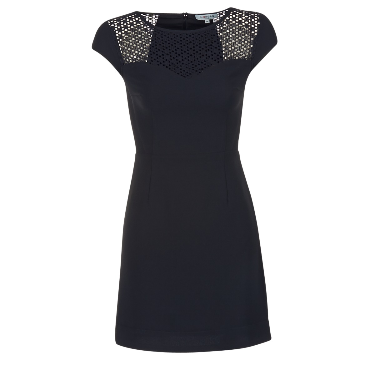 Morgan korte jurk renal zwart