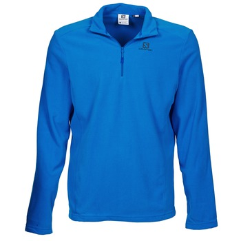 Textiel Heren Fleece Salomon PANORAMA HZ Blauw