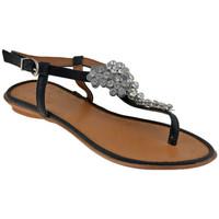 Schoenen Dames Sandalen / Open schoenen Total Lookers  Zwart