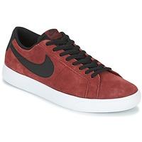 Schoenen Heren Lage sneakers Nike BLAZER VAPOR LOW SB Bordeau / Wit