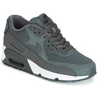 Schoenen Jongens Lage sneakers Nike AIR MAX 90 MESH GRADE SCHOOL Grijs