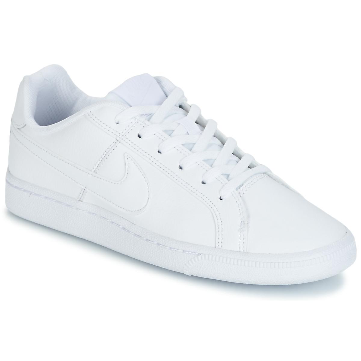 cb332ba6aca Nike COURT ROYALE GRADE SCHOOL Wit - Gratis levering | Spartoo.nl ! -  Schoenen Lage sneakers Kind € 49,99