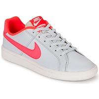 Schoenen Meisjes Lage sneakers Nike COURT ROYALE GRADE SCHOOL Grijs / Roze
