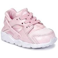 Schoenen Meisjes Lage sneakers Nike HUARACHE RUN SE TODDLER Roze