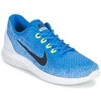 Schoenen Heren Running / trail Nike LUNARGLIDE 9 Blauw