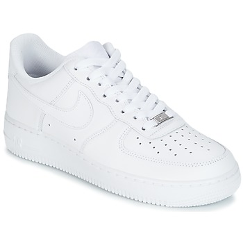nike air force 1 heren zwart wit