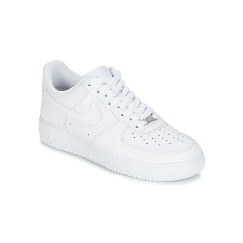 new concept 41b96 ff3a4 Schoenen Heren Lage sneakers Nike AIR FORCE 1 07 Wit