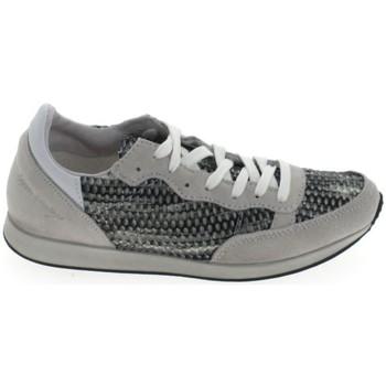 Schoenen Dames Lage sneakers Ippon Vintage Run Street Blanc Gris Grijs