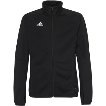 Textiel Heren Trainings jassen adidas Performance Tiro17 Trainingsjack Zwart / Wit