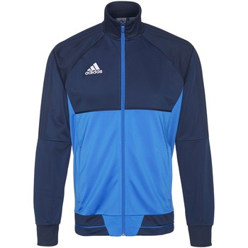 Textiel Heren Trainings jassen adidas Performance Tiro17 Training Jack Donkerblauw / Blauw / Wit