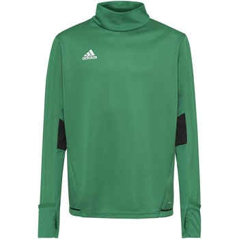 Textiel Jongens Fleece adidas Performance Tiro17 Trainingsshirt Groen / Zwart / Wit